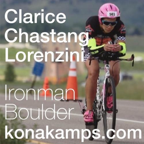 Clarice Chastang Lorenzini, Ironman Boulder 2019