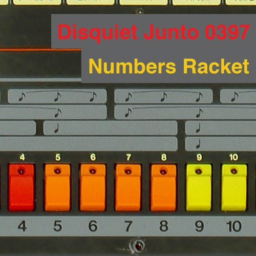 Disquiet Junto Project 0397: Numbers Racket