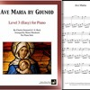 Ave Maria by Gounod & Bach arranged for Level 3 Piano by Mizue Murakami