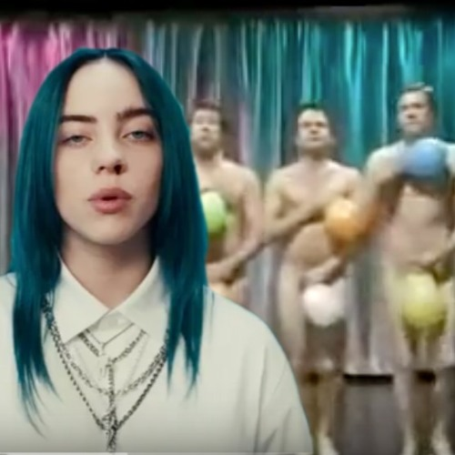 Billie Eilish vs. String-A-Longs - balloon guy