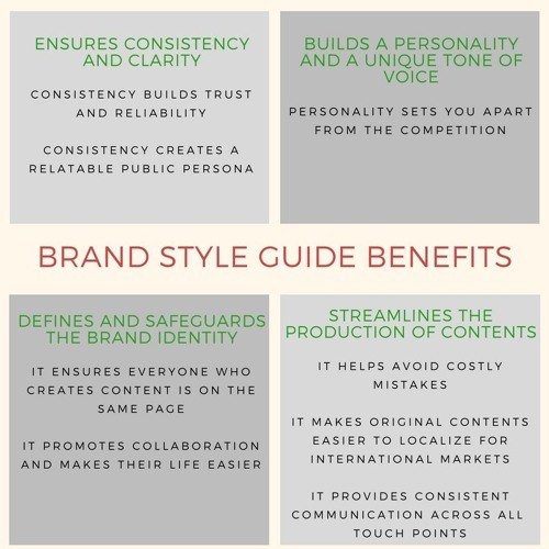 Why You Should Have A Brand Style Guide