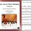 """Jesu, Joy of Man's Desiring"" by Bach arranged for Level 3 Celtic Piano by Mizue Murakami"