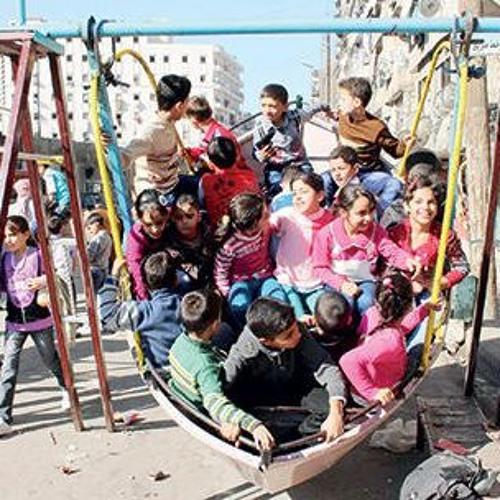 تقرير: تعرفوا على ألعاب العيد في الماضي داخل مدينة الرقة