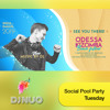 2019-07-30 Tuesday Social Pool - DJ NUO @ OKBF