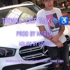 TOONKA- Crip Talk