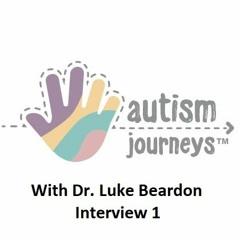 Interview with Dr. Luke Beardon, Autism Journeys, June 2018