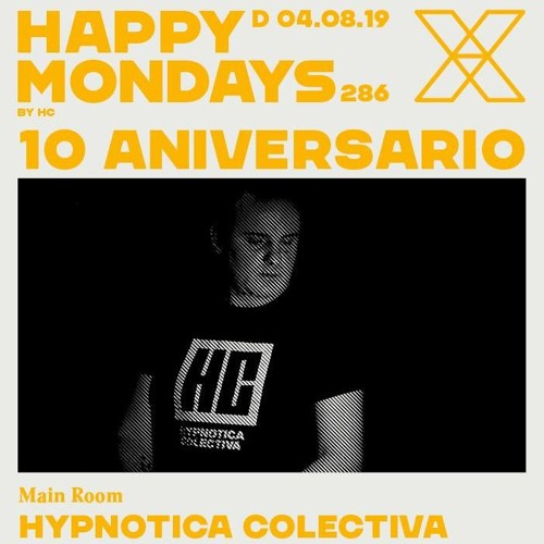 David Verdeguer Closing Set Happy Mondays X Aniversario @ Miniclub Domingo 4.8.19