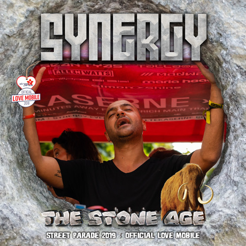 Philippe El Sisi Live @ SYNERGY 'The Stone Age' Love Mobile - Street Parade Zurich (10.08.2019)