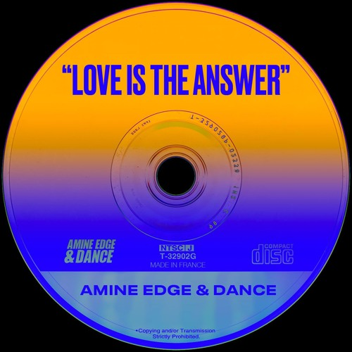 Amine Edge & DANCE - Love Is The Answer (Original Mix) Song