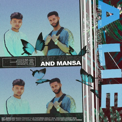 Nat James & Mansa - A Lie ft. Ashley Zeal