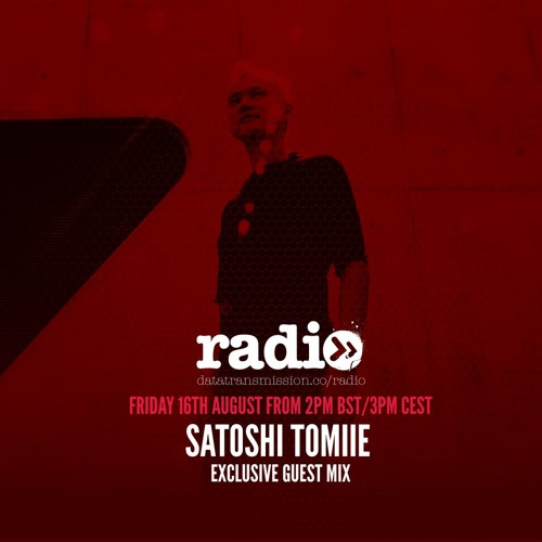 Exclusive Guest Mix With Satoshi Tomiie