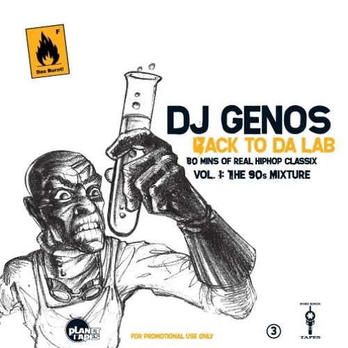 Dj Genos – Back To The Lab Vol. 1 (Mixtape / released 2006)