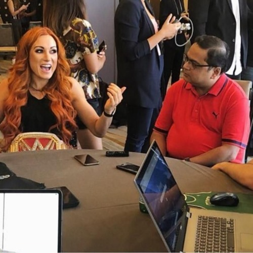 Friday,August 16: Fired Up Extra: Exclusive Interview with Raw Ladies Champ Becky Lynch