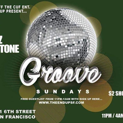 Groove at the Endup SF (August 11, 2019)