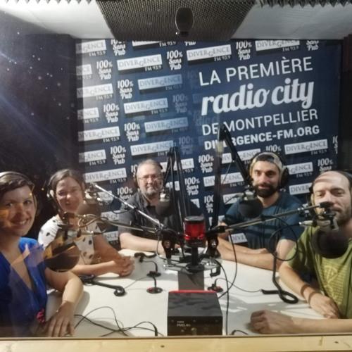 Entretien sur Divergence FM / Montpellier
