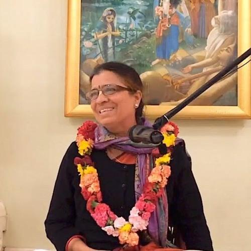 Śrīmad Bhāgavatam class on Wed 7th August 2019 by Chandra Vallabhi Devi Dāsi 4.24.20
