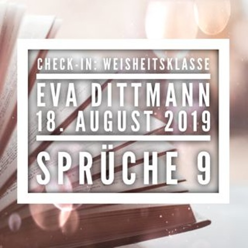 Eva Dittmann - Check-In: Weisheitsklasse