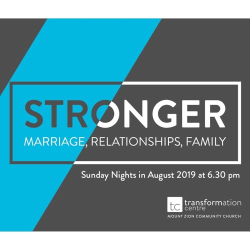 Stronger - Church - Gods Family - 11th Aug 2019 PM - Pastor Nick Serb