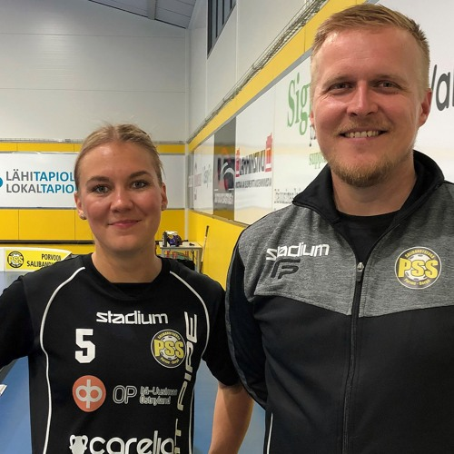 Inka Lampinen ja Jukka Kouvalainen Uusimaa urheilutoimituksen haastattelussa