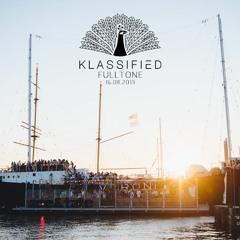Fulltone @ Klassified Showcase  | Veronicaschip Amsterdam  | 16-08-19