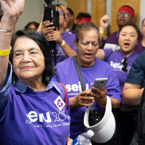 Rally And Civil Disobedience To Support Fresno County Caregivers