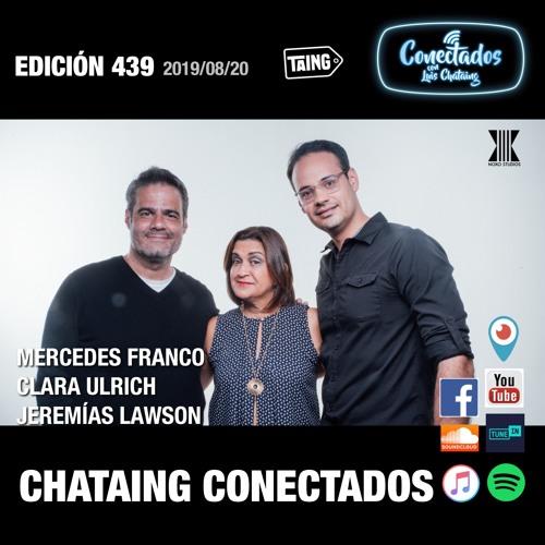 439 CONECTADOS Mercedes Franco, Jeremías Lawson, y Clara Ulrich