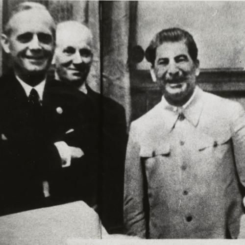 Molotov - Ribbentroppakten 23 Augusti 1939