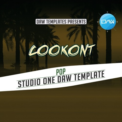 Cookont Studio One DAW Template