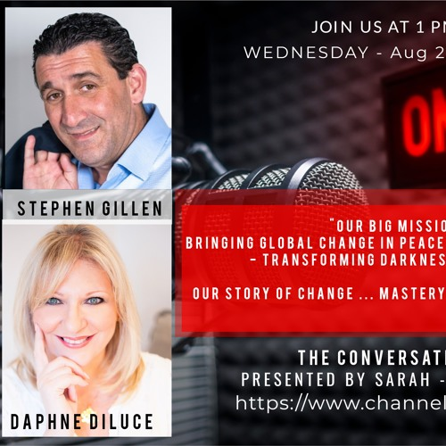 The Conversation with Stephen Gillen and Daphne Diluce.. CEO and COO Shooting Star Events Academy