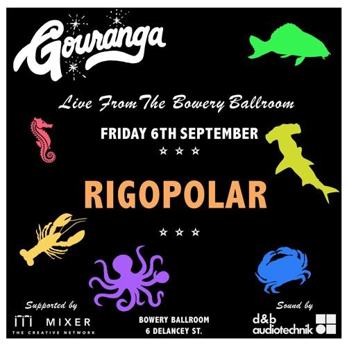 RIGOPOLAR - Live Mix for Gouranga - [Rigopolar Plays Bowery Ballroom 6th September]