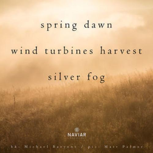 haiku #294: spring dawn / wind turbines harvest / silver fog