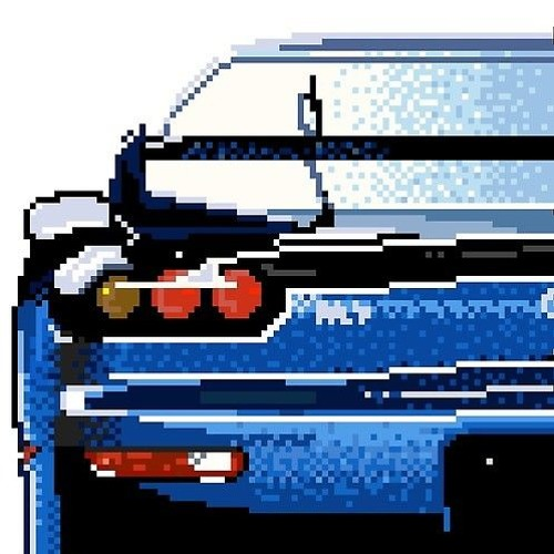 Chiptune : Blue Car (Roland D 50)