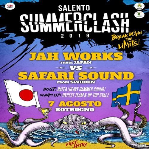 Jah Works vs Safari Sound 08-19 ITA (Salento Summerclash)