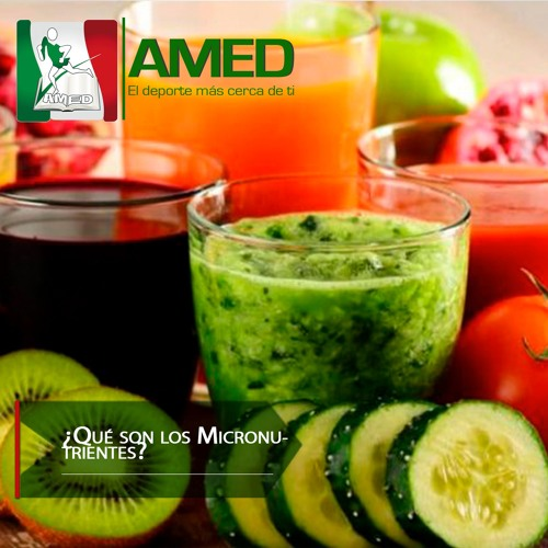 Podcast 345 AMED -  ¿Qué Son Los Micronutrientes? Dr. David Lezama Del Valle