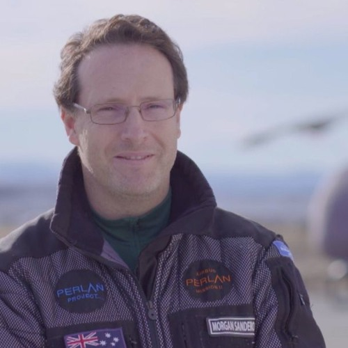Morgan Sandercock - Pilot & Chief Engineer - Airbus Perlan Mission II
