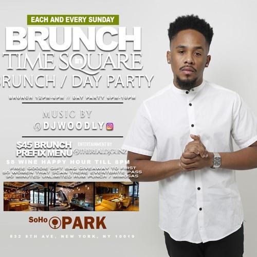 SUNDAY BRUNCH @ SOHO PARK 8/25/19 By DJWOODLY
