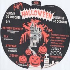 "CP ""Cedric"" Piret @ Cherry Moon - Halloween - 30-10-1994"