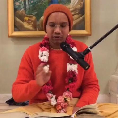 Śrīmad Bhāgavatam class on Mon 26th August 2019 by Ādipuruṣa Dāsa 4.24.41
