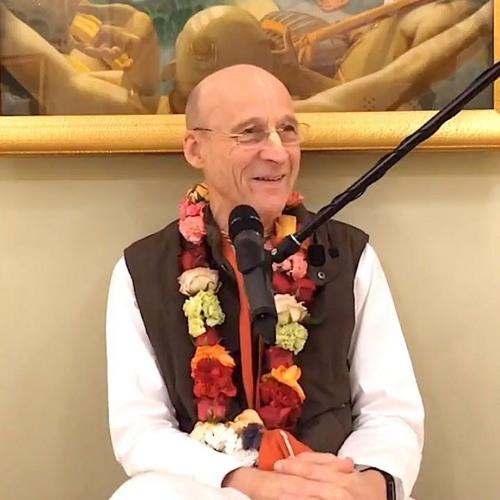 Śrīmad Bhāgavatam class on Thu 29th August 2019 by His Grace Aniruddha Prabhu 4.24.44
