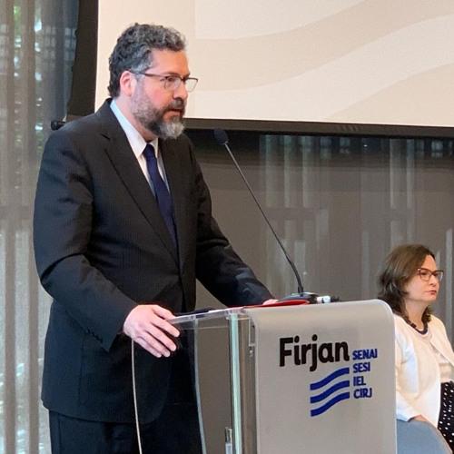 Discurso do ministro Ernesto Araújo na FIRJAN - 29/8/2019
