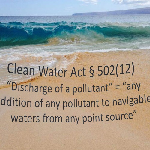 County of Maui violation of Clean Water Act
