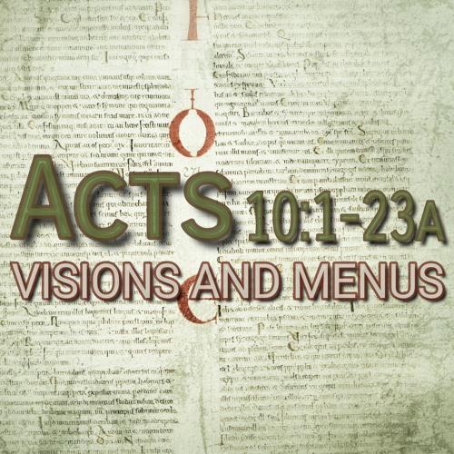 Acts 10:1-23a (preacher: Keith Cooper)