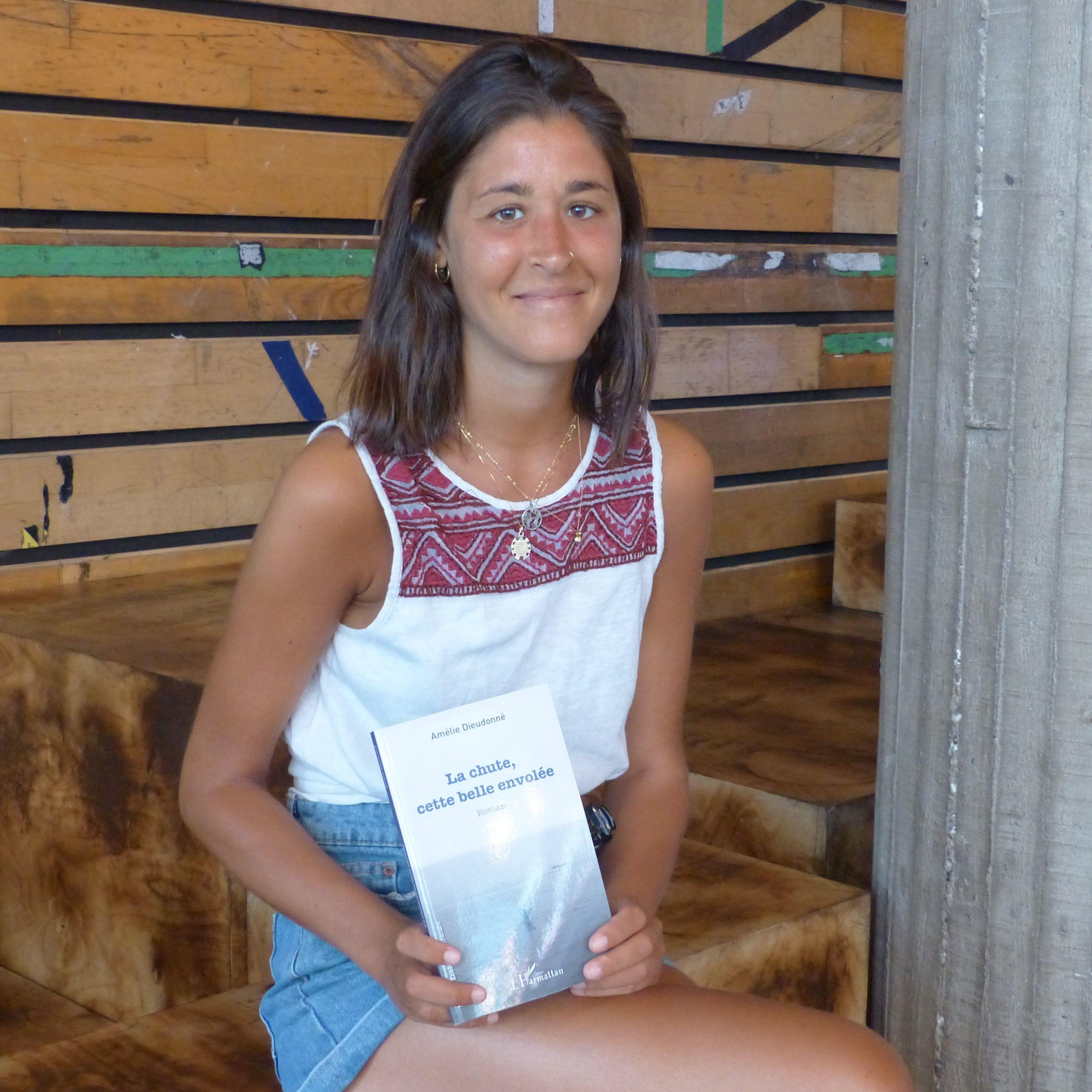 Découvrez LA CHUTE CETTE BELLE ENVOLEE, le 1er roman d'Amélie Dieudonné