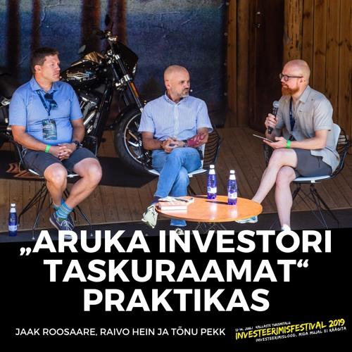 """""""Aruka investori taskuraamat"""" praktikas. Kuidas tagada endale õiglane tükk aktsiaturu tootlusest?"""