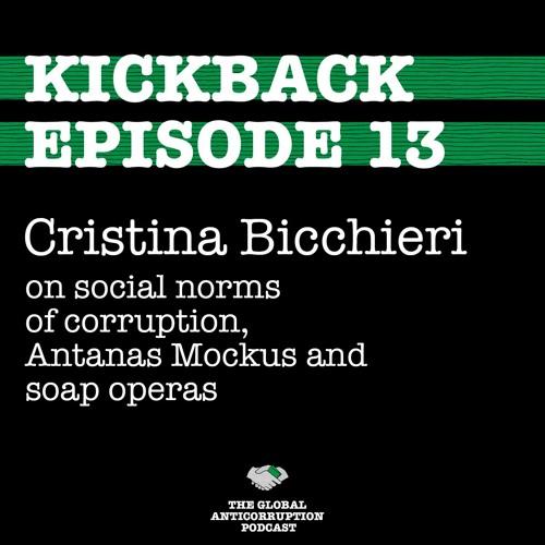 13. Cristina Bicchieri on social norms of corruption, Antanas Mockus and Soap Operas