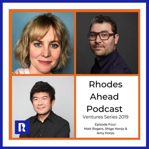 Ventures Series:  Matt Rogers, Shige Honjo & Amy Honjo