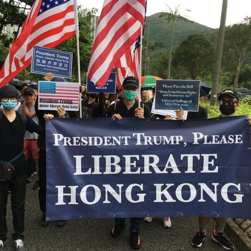 US meddling in Hong Kong's protests and the new cold war on China - with Carl Zha
