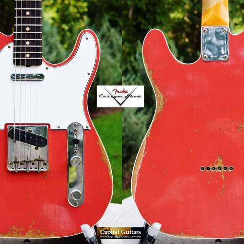 Fender CS Tele Custom R95483 Fiesta Red Ch1