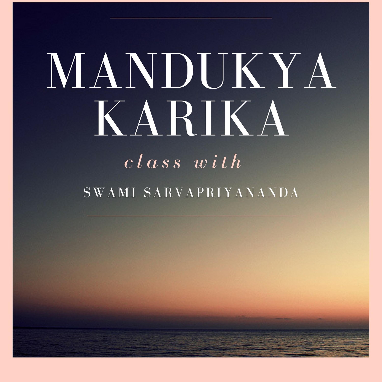 20. Mandukya Upanishad - Karika 2.6 |...