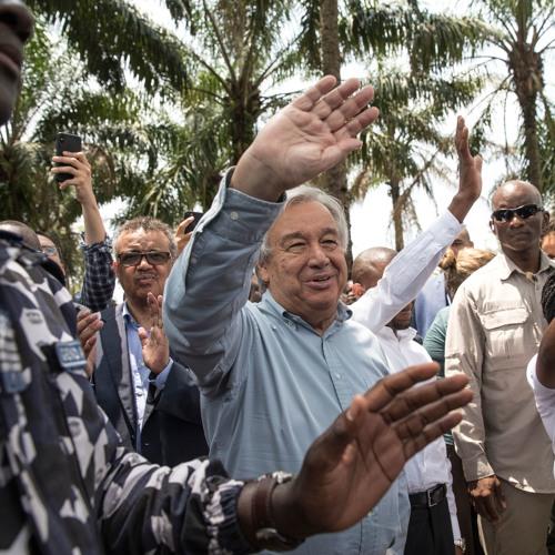 António Guterres : « un vent d'espoir souffle en RDC »